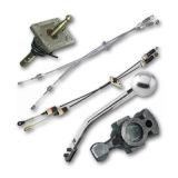 Рычаги, тросы и составляющие селектора коробки передач (КПП)
