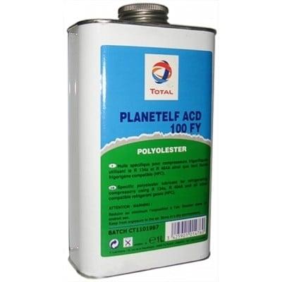 Масло для компрессоров кондиционеров Total PlanetElf ACD 100 FY, 1 л