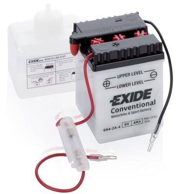 Батарея аккумуляторная Exide Conventional 6В 4Ач 35A(EN) L+