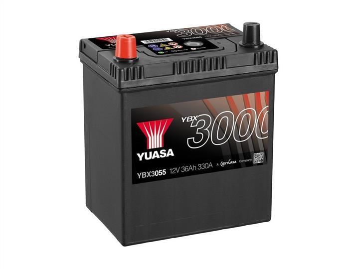 Батарея аккумуляторная Yuasa YBX3000 SMF 12В 36Ач 330A(EN) L+