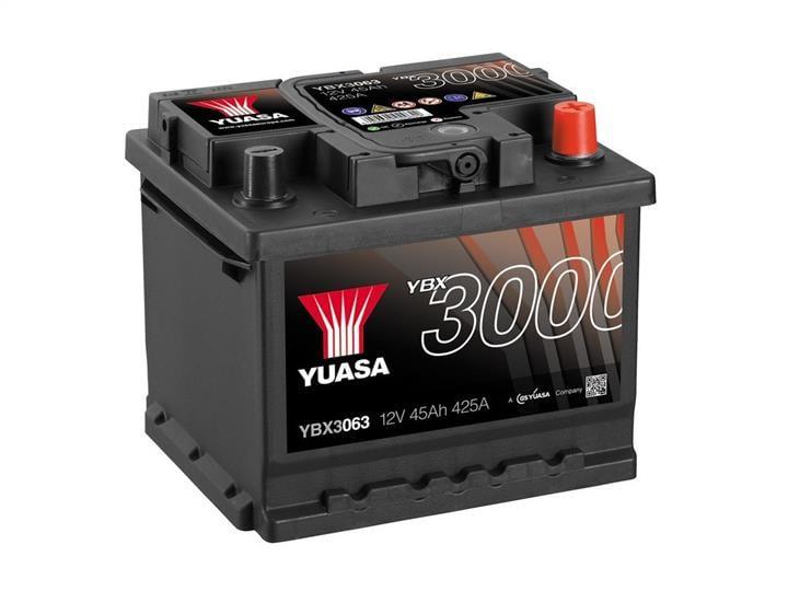 Батарея аккумуляторная Yuasa YBX3000 SMF 12В 45Ач 425A(EN) R+ Yuasa YBX3063
