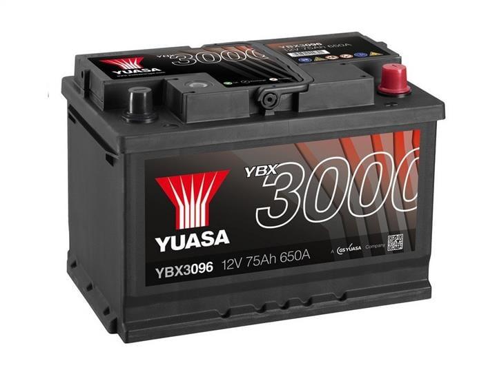Батарея аккумуляторная Yuasa YBX3000 SMF 12В 75Ач 650A(EN) R+
