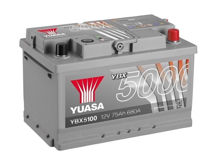 Батарея аккумуляторная Yuasa YBX5000 Silver High Performance SMF 12В 75Ач 680A(EN) R+