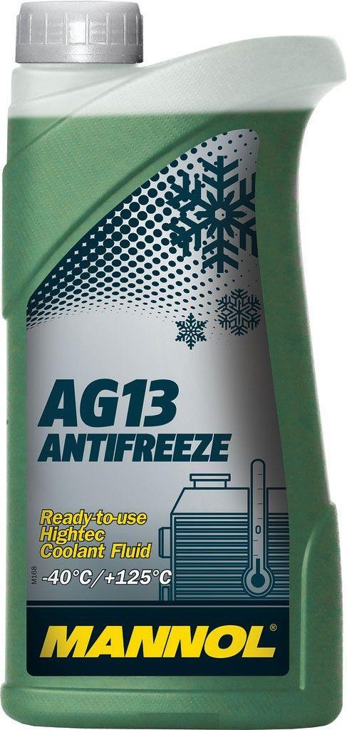 Антифриз HIGHTEC ANTIFREEZE AG13, зелёный, -40°C, 1 л
