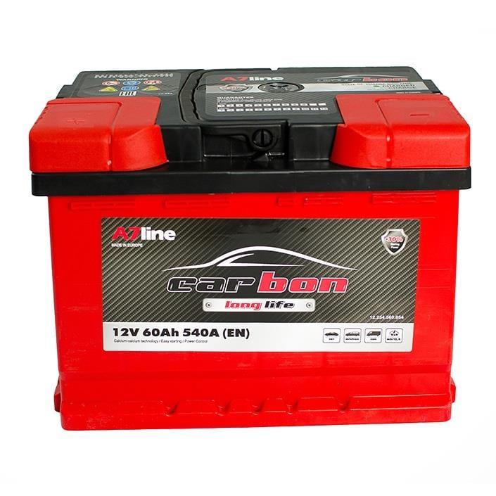 Батарея аккумуляторная CARBON Longlife 12В 60Ач 540A(EN) L+