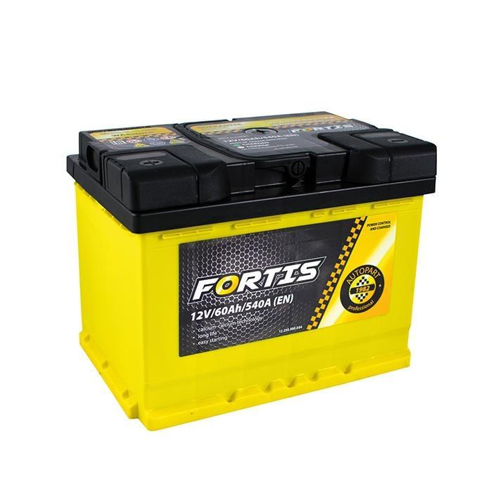 Батарея аккумуляторная FORTIS 12В 60Ач 540A(EN) L+