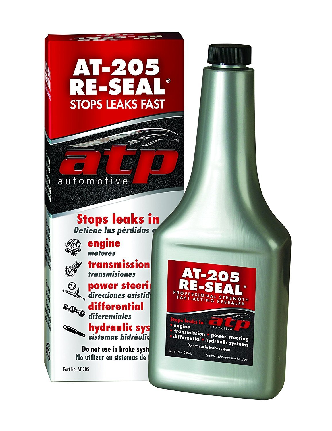 Присадка в масло ATP AT-205 Re-Seal Stops Leaks, 0,236 л