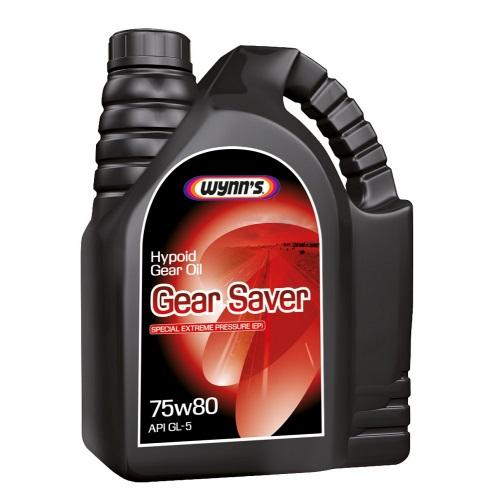 Масло трансмиссионное Wynn's GEAR SAVER 75W-80, 5 л