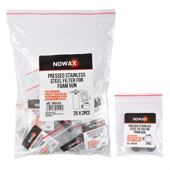 Прессованная фильтр-таблетка NOWAX из нержавеющей стали 10x14 мм комплект 2шт NOWAX NX01410