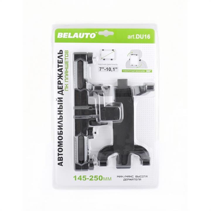 Автодержатель BELAUTO DU16 для планшетов на подголовник (145-250мм)