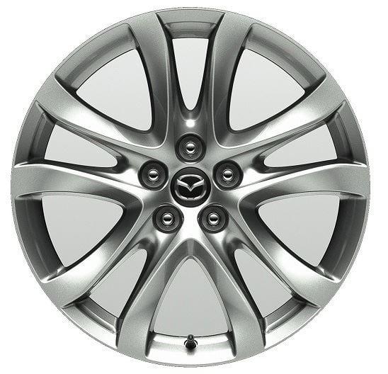 Диск колёсный легкосплавный Mazda 7.5x17 5x114.3 ET50 DIA 67.1 Mazda 9965-07-7570CN