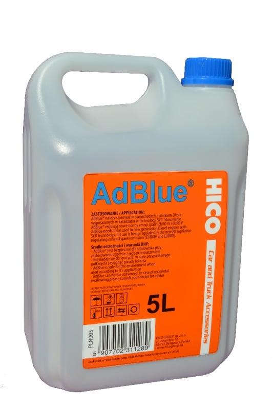 Жидкость AdBLUE, 5 л