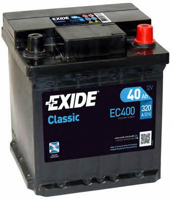 Батарея аккумуляторная Exide Classic 12В 40Ач 320A(EN) R+