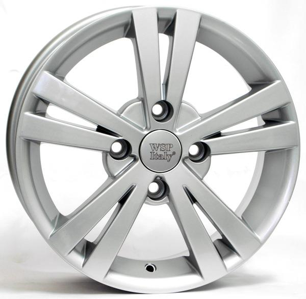 Диск колёсный легкосплавный WSP Italy W3602 SILVER(CHEVROLET) 6x15 4x114,3 ET45 DIA56,6 WSP Italy RCH15600245DSD