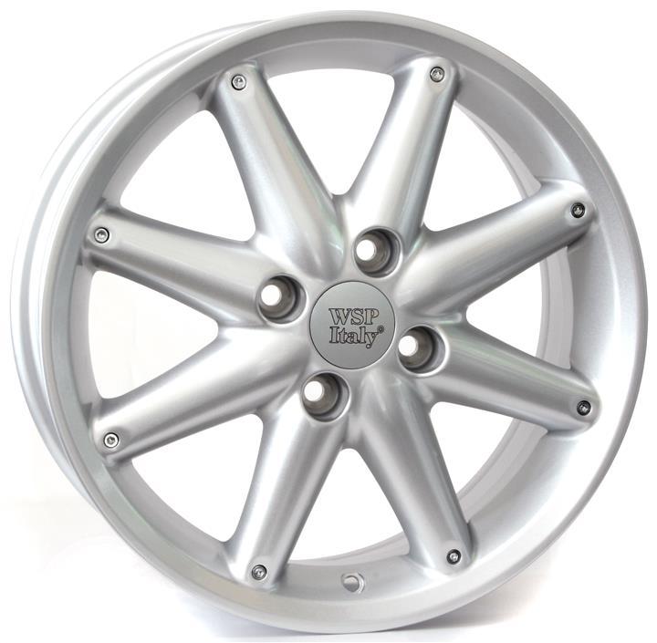 Диск колёсный легкосплавный WSP Italy W952 SILVER(FORD) 6x15 4x108 ET52,5 DIA63,4 WSP Italy RFO15605252CSS