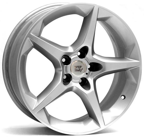 Диск колёсный легкосплавный WSP Italy W2503 SILVER(OPEL) 6,5x16 5x110 ET37 DIA65,1 WSP Italy ROP16650337HSA