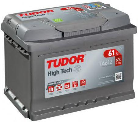 Батарея аккумуляторная Tudor 12В 61Ач 600A(EN) R+ Tudor TA612