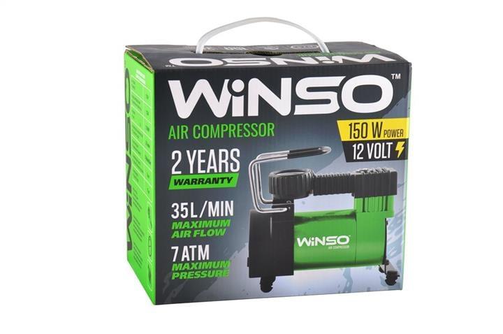 "Компрессор ""WINSO"" 7 Атм, 35 л/мин. 150Вт, кабель 3м., шланг 1м. Winso 121000 - фото 3"