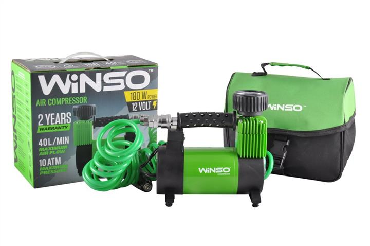 "Компрессор ""WINSO"" 10 Атм, 40 л/мин., 180Вт., кабель 3м., шланг 5м."