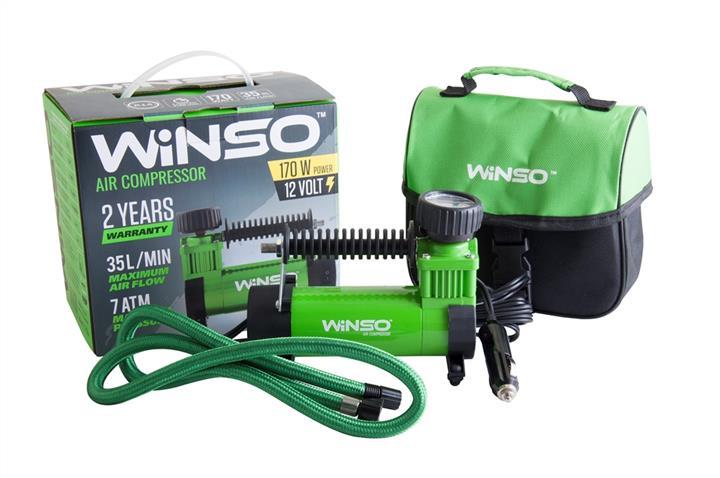 "Компрессор ""WINSO"" 7 Атм, 35 л/мин. 170Вт., кабель 1м., шланг 3м."