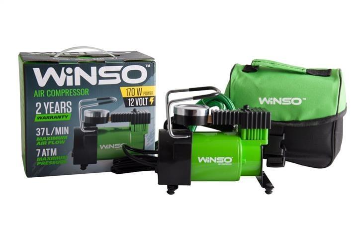 """Компрессор """"WINSO"""" 7 Атм, 37 л/мин., 170Вт, кабель 3м., шланг 1м., пласт.накладка"""