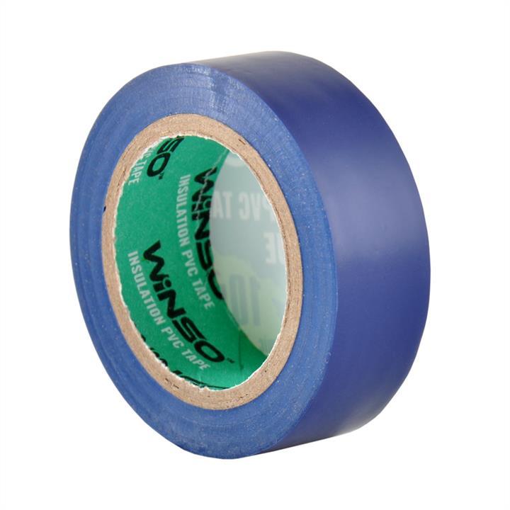 Изоляционная ПВХ лента синяя, длина 10м., ширина 19мм., толщина 130мк. Winso 153100 - фото 3