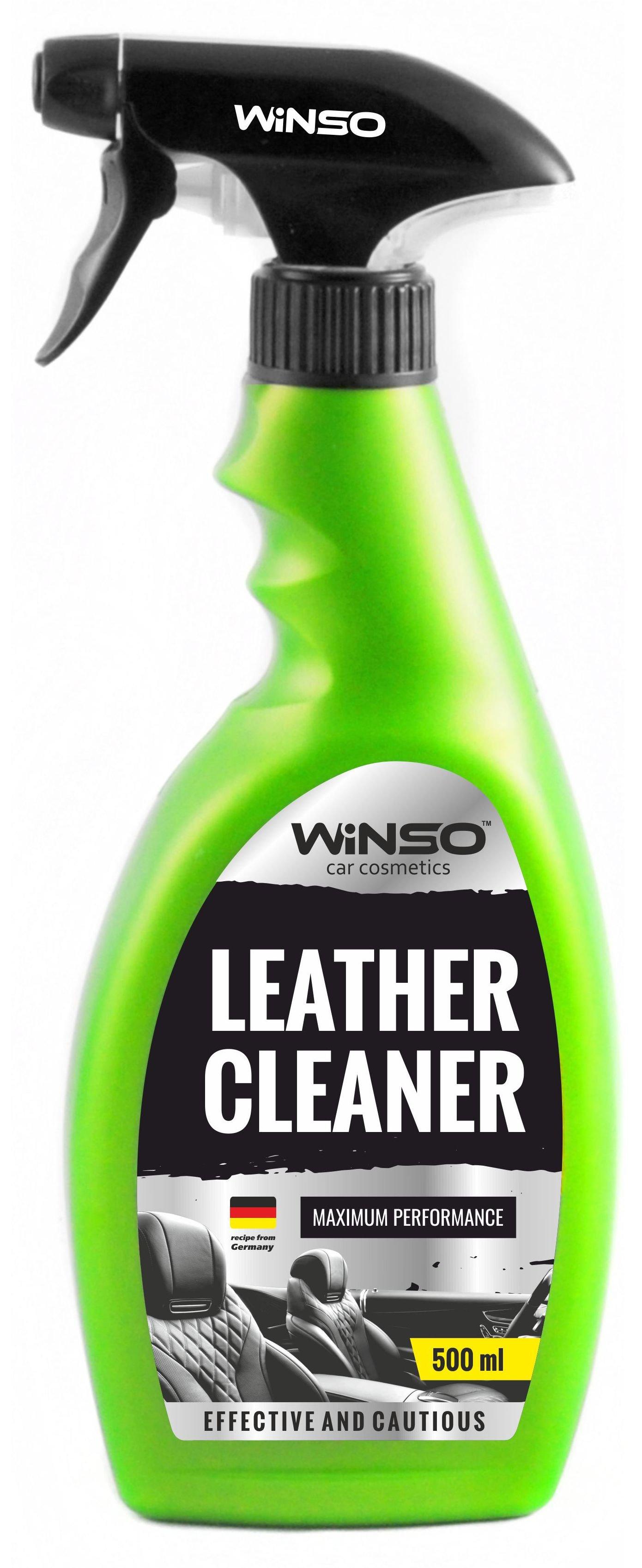 Очиститель кожи LEATHER CLEANER 500мл