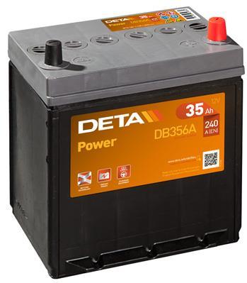 Батарея аккумуляторная Deta Power 12В 35Ач 240A(EN) R+