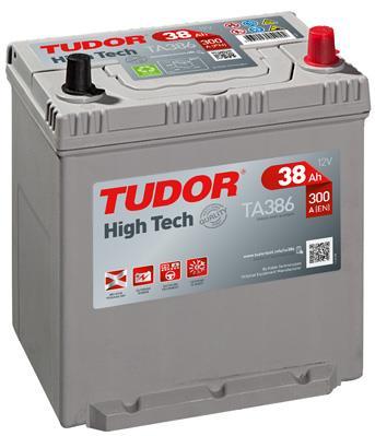 Батарея аккумуляторная Tudor 12В 38Ач 300A(EN) R+