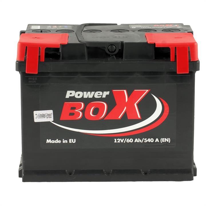 Батарея аккумуляторная PowerBox 12В 60Ач 540A(EN) L+