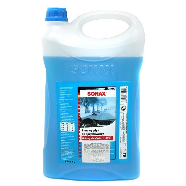 Жидкость омывателя стекла, зимняя -20°C, 4 л