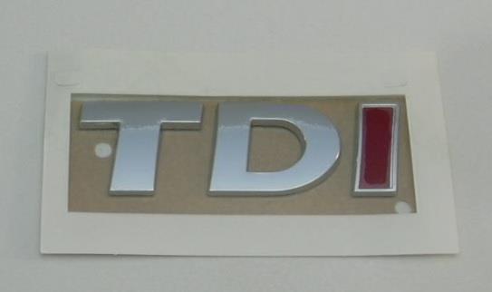 """Надпись """"tdi"""""""