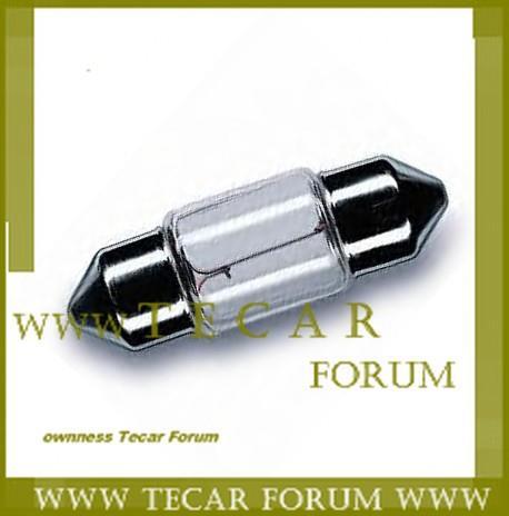 Лампа накаливания C5W 12V 5W VAG N 017 725 2
