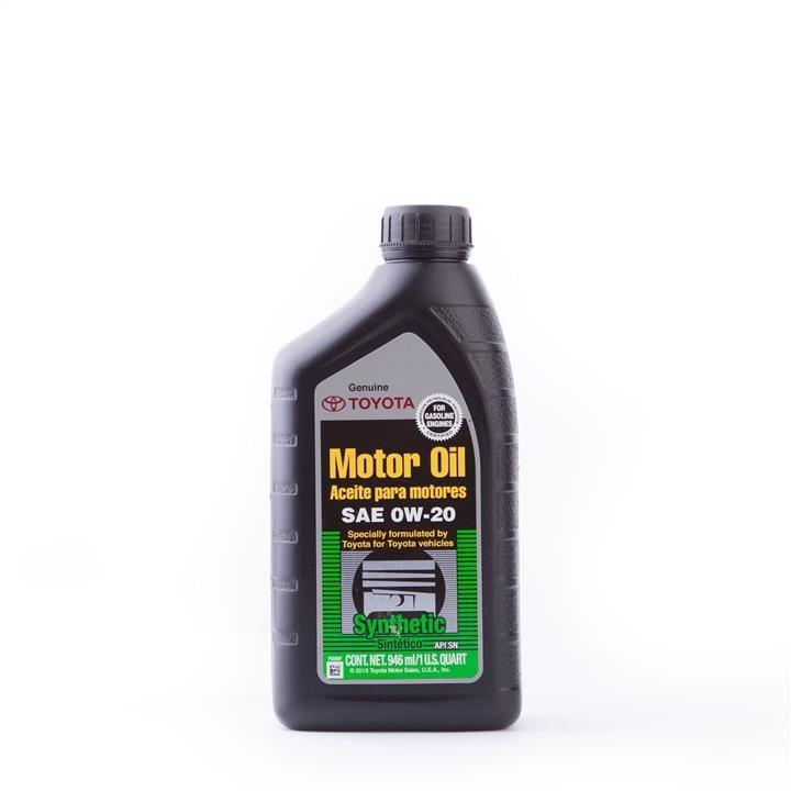 Масло моторное Toyota Motor Oil 0W-20, 0,946 л (00279-0WQTE-01)