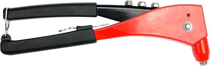 Заклепочник ручний для алюм. і стальних заклепок YATO, Ø= 2,4; 3,2; 4,0; 4,8 мм, l= 250 мм (6/24) Yato YT-36007 - фото 4