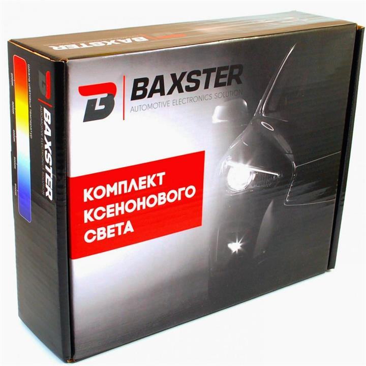 Комплект ксенонового света Baxster H3 6000K 35W Baxster 20751