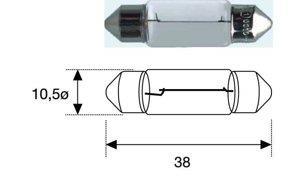 Лампа накаливания C5W 12V 5W Mitsubishi MF820513