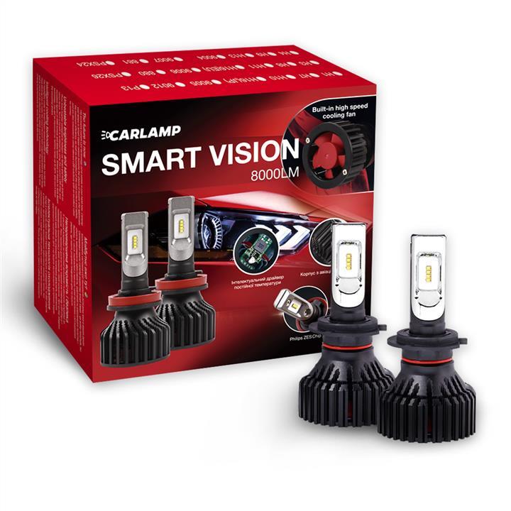 Лампы светодиодные комплект Carlamp Smart Vision H7 12V 30W 6500K (2 шт.) Carlamp SM7 - фото 13