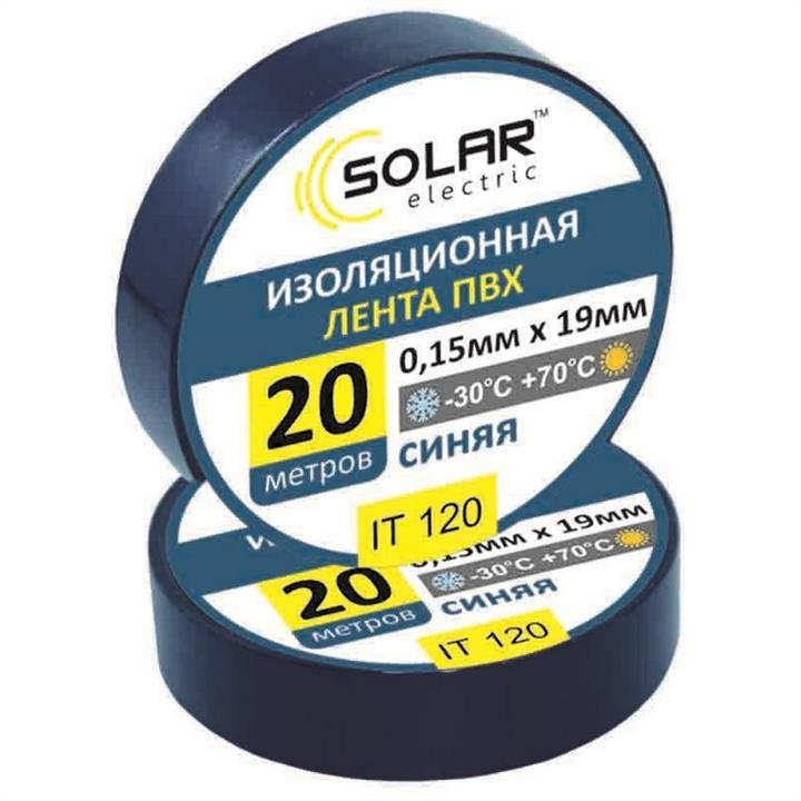 Изолента SOLAR IT120