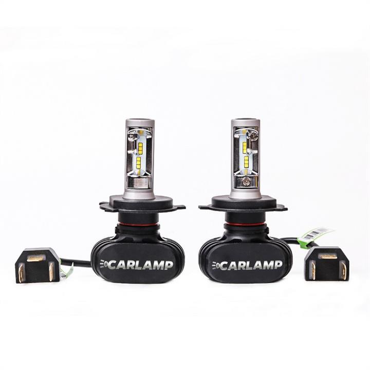 Лампы светодиодные комплект Carlamp Night Vision H4 12V 50W 5000K (2 шт.) Carlamp NVH4 - фото 13