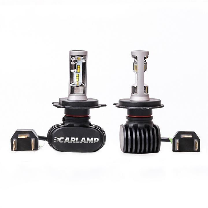 Лампы светодиодные комплект Carlamp Night Vision H4 12V 50W 5000K (2 шт.) Carlamp NVH4 - фото 15