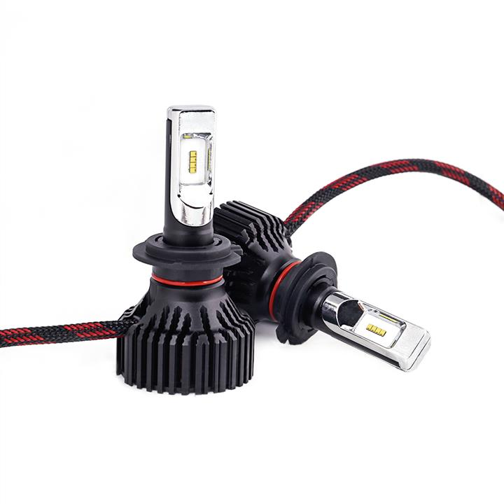 Лампы светодиодные комплект Carlamp Smart Vision H7 12V 30W 6500K (2 шт.) Carlamp SM7 - фото 6