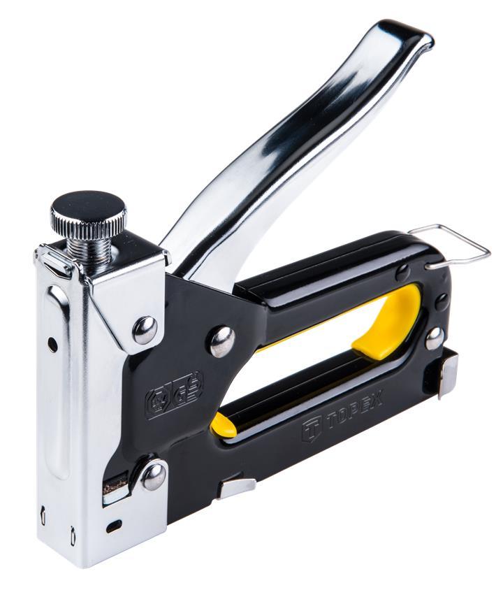 Степлер TOPEX 6-14 мм, скобы J TOPEX 41E905
