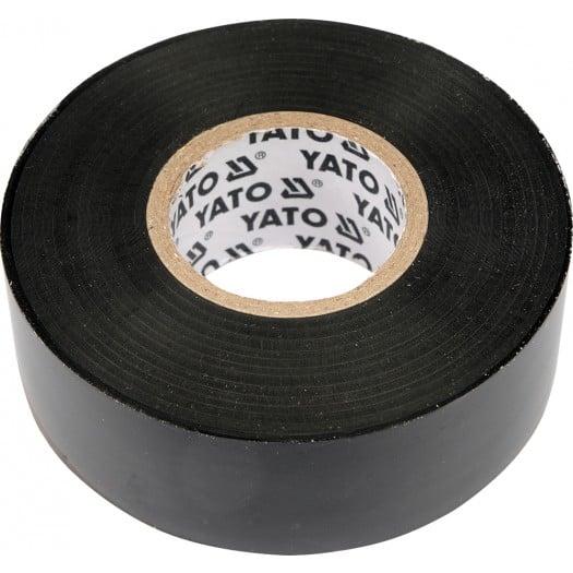 Изолента 12 мм х 10 м, черная Yato YT-8152