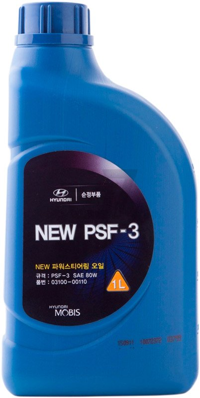 Масло гидравлическое Hyundai/Kia NEW PSF-3, 1 л Hyundai/Kia 03100 00110