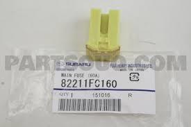 Предохранитель Subaru 82211FC160
