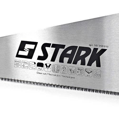 Ножовка по дереву Stark 350 мм, 10 зубьев Stark 507350010 - фото 3