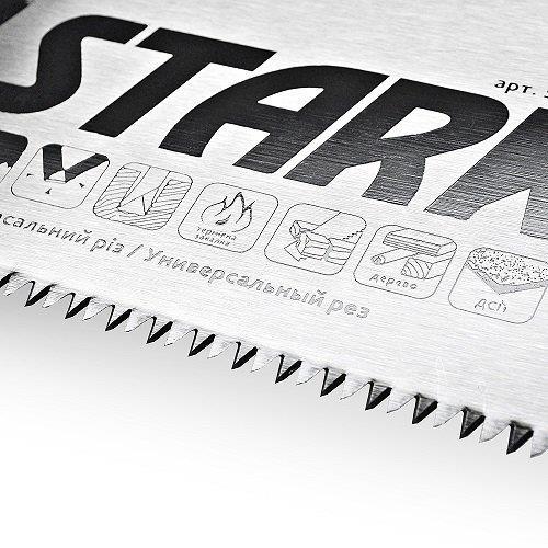 Ножовка по дереву Stark 450 мм, 7 зубьев Stark 507450007 - фото 4