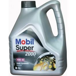 Масло моторное Mobil  Super 2000 X1 10W-40, 4 л