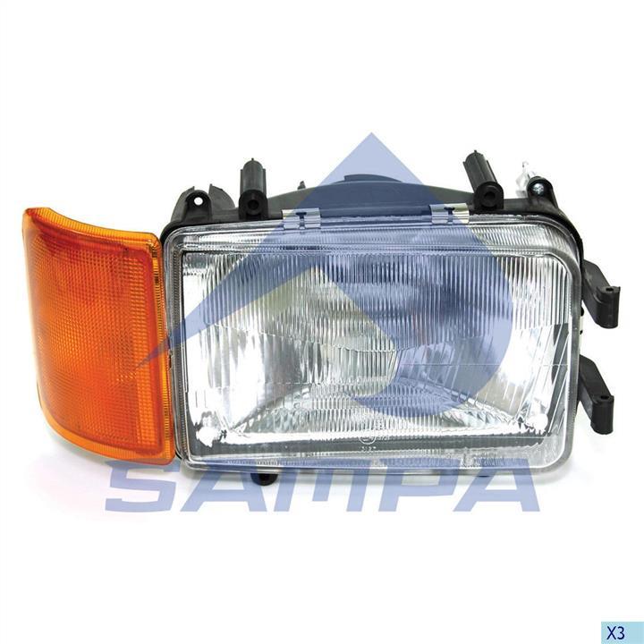 Фара основная правая Sampa 051.096